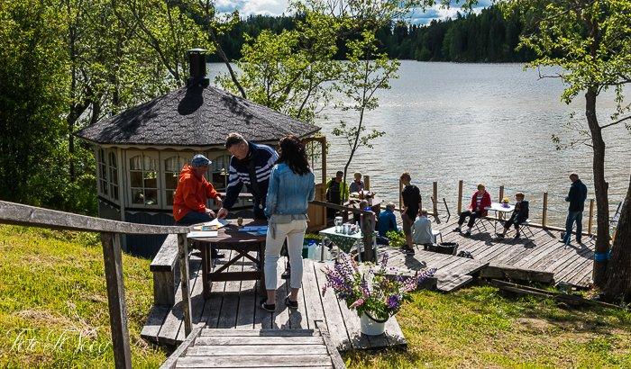 11.6.2016 Kartanonmäen kyläyhdistyksen vieraskirja