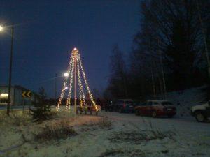 Jouluvalojen sytytys