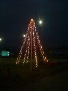 Jouluvalojen sytytys @ Kartanonmäen risteysalue
